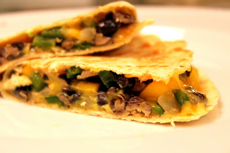 Poblano, Mango, Avocado and Black Bean Quesadillas — The Picky Eater ...