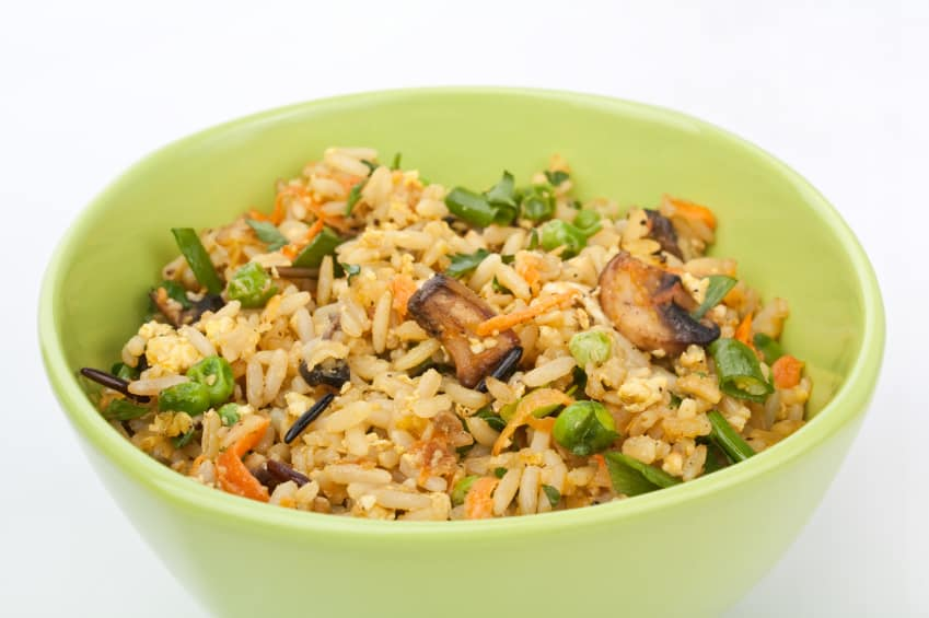 ... fried rice organic frozen edamame beans cooked brown rice and some