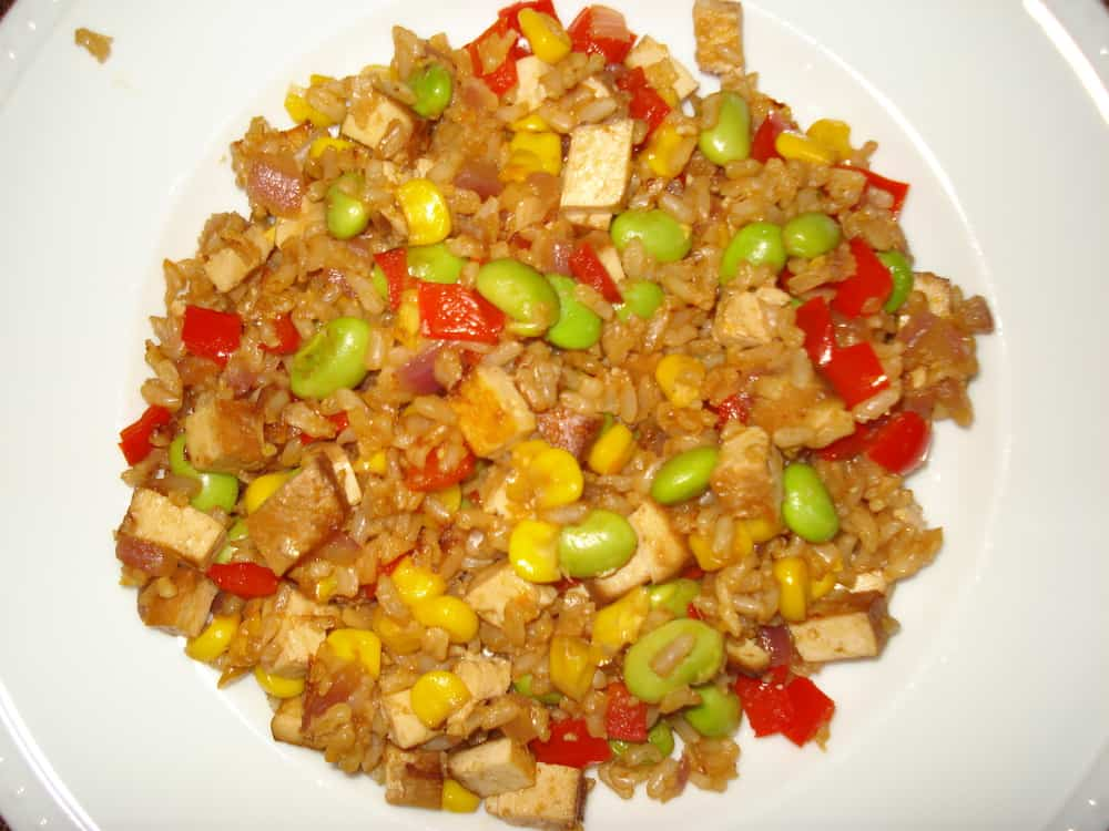 fried rice edamame fried rice appetite for china edamame fried brown ...