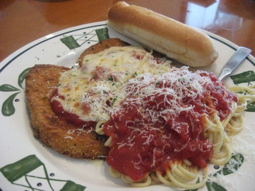 Captivating Olive Garden Eggplant Parmigiana
