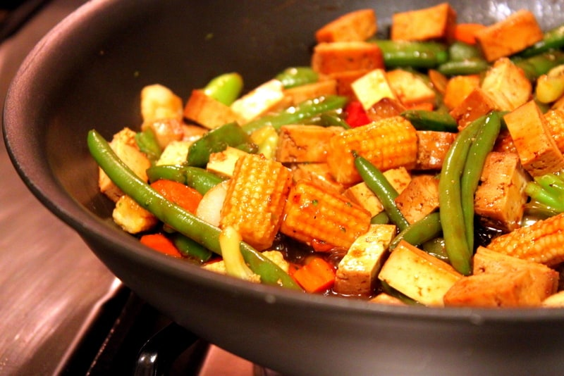 Simple, Healthy Asian Stir Fry with Veggies and Tofu — The Picky ...