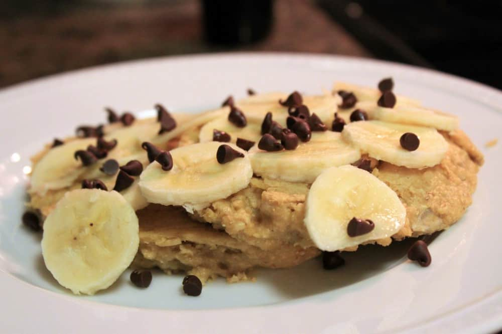 """Roasted Rosemary Potatoes and Oatmeal Sunflower """"Pancakes"""" — The ..."""