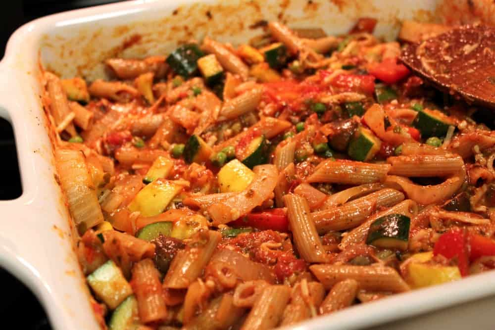 Healthy Baked Penne With Roasted Vegetables The Picky Eater