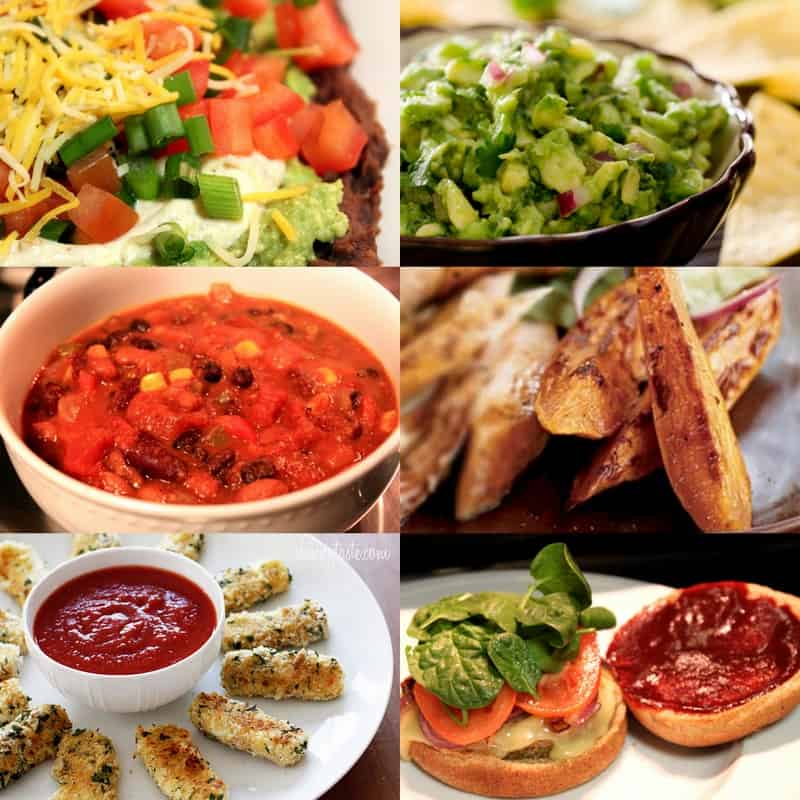 Healthy Super Bowl Party Recipes