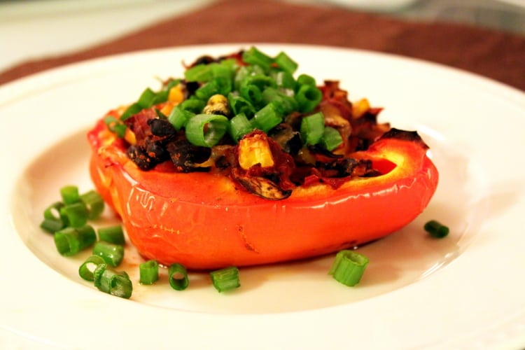 bell peppers chili stuffed bell peppers with melted cheese recipes