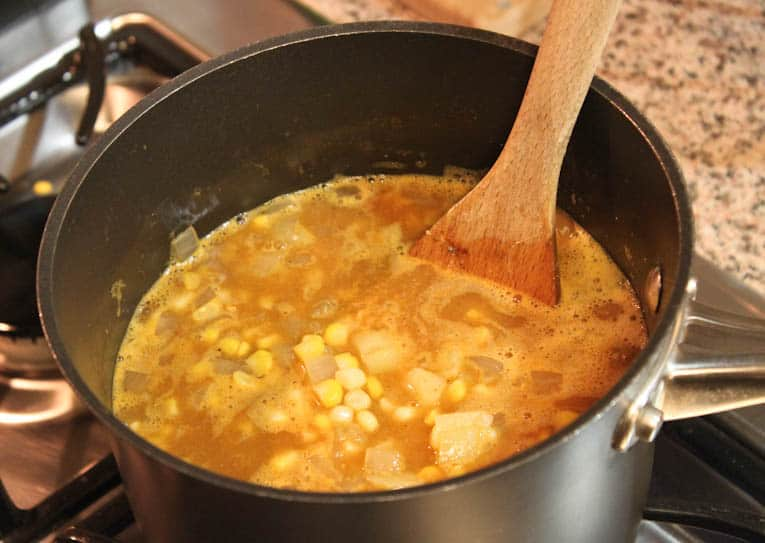 Creamy and Spicy Corn Soup — The Picky Eater: A Healthy Food Blog