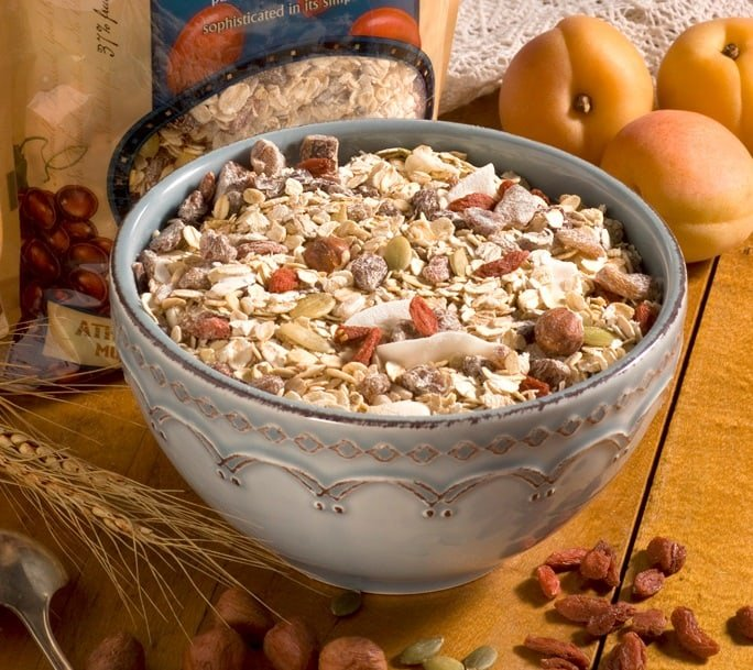 Goji Berry, Hazelnut & Apricot - Ambrosial Whole Grain Organic Muesli