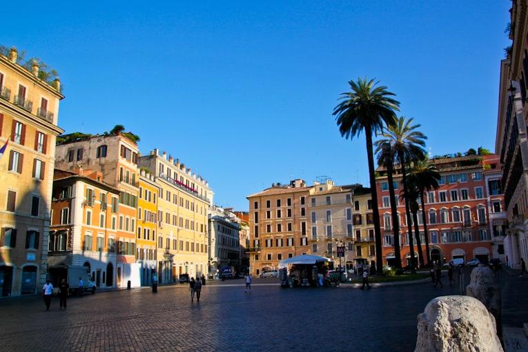3b - spanish steps piazza
