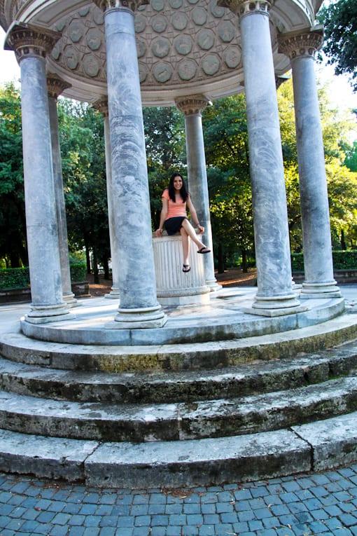 4a - villa borghese park