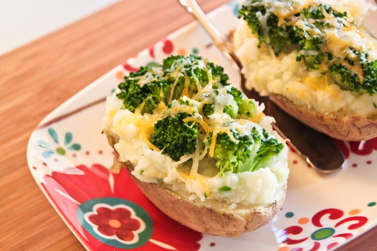 Twice Baked Potatoes with Broccoli and Cheese — The Picky Eater: A ...