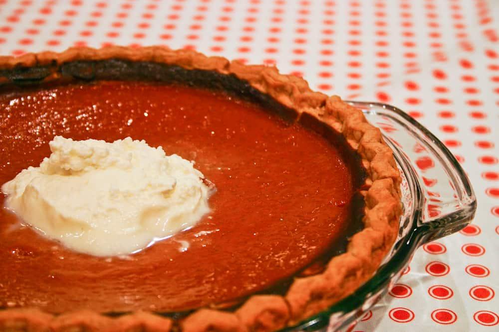 Healthy Pumpkin Pie (Slimmed-Down but still delicious ...