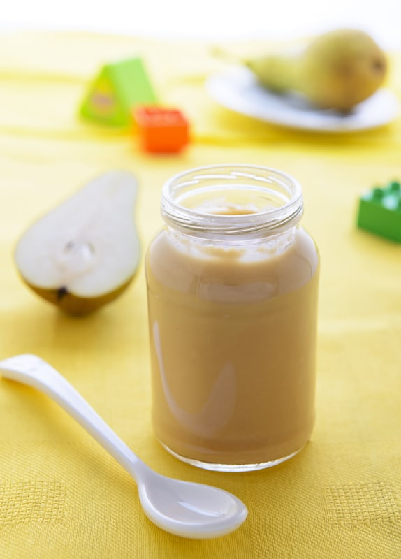 Homemade baby food recipes pear puree the picky eater homemade baby food recipes pear puree forumfinder Image collections