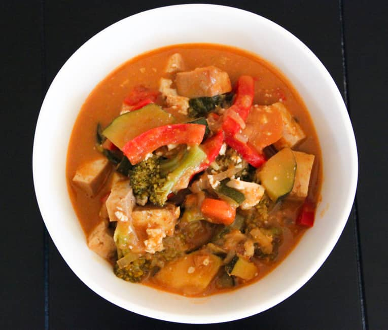 Vegetarian Panang Curry with Tofu — The Picky Eater: A Healthy Food ...
