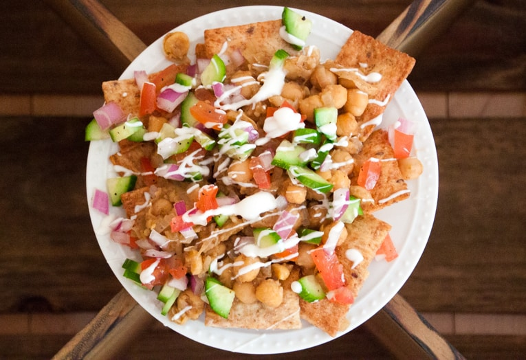 "Greek ""Nachos"" with Baked Chickpeas — The Picky Eater: A Healthy ..."