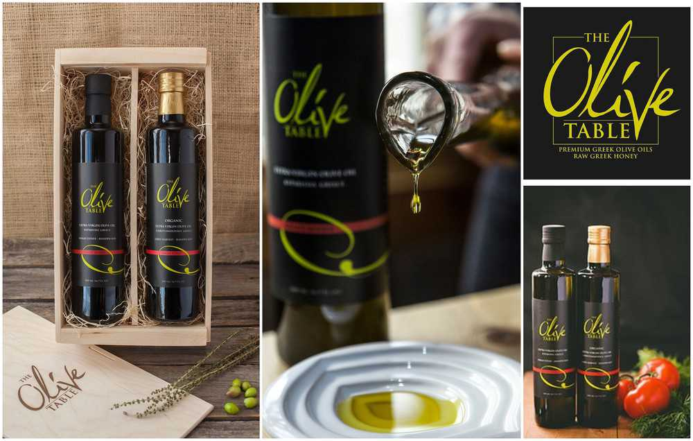 olive table olive oil
