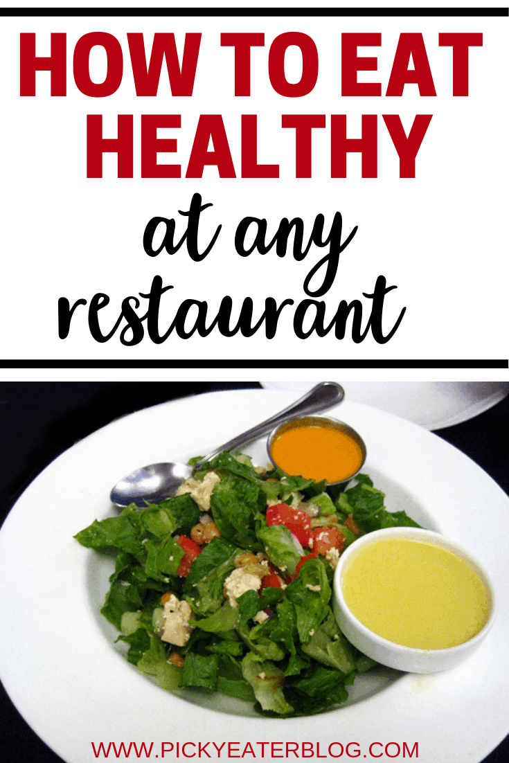 Staying healthy while eating out is hard to do, but good news! We have some great tips to help you stay healhty and still enjoy eating out!