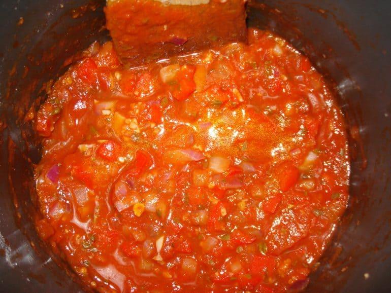 sauce for healthy veggie pasta