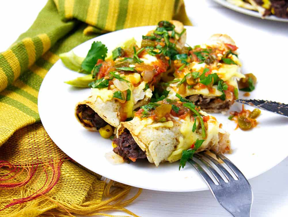 Mexican Flautas Healthy Vegetarian The Picky Eater