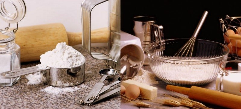 baking products for a healthy pantry