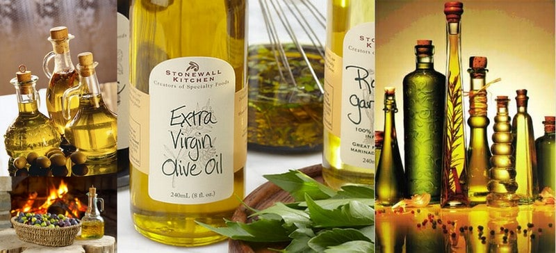 healthy pantry essentials - oils, vinegars, condiments