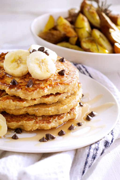 oatmeal sunflower pancakes