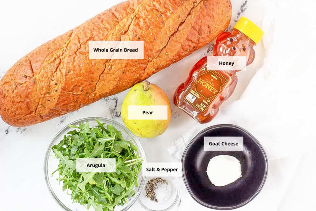 goat cheese grilled cheese sandwich ingredients