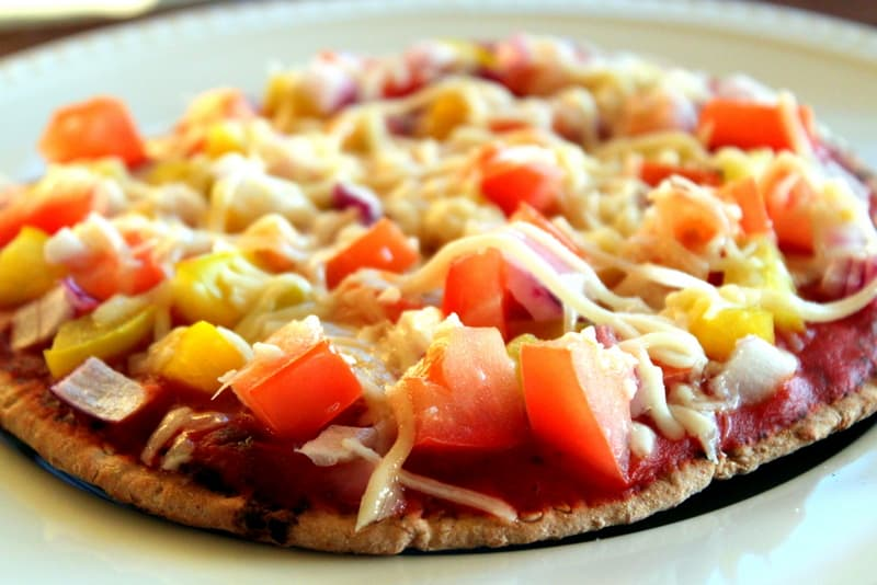Homemade Whole Wheat Pita Pizzas The Picky Eater