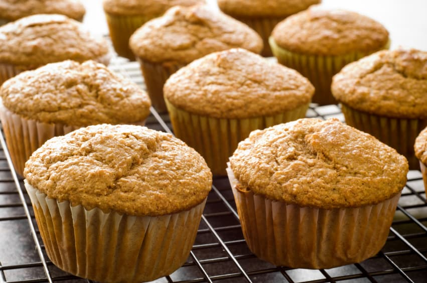 Healthy Baking Substitutes And Low Fat Breakfast Muffins The