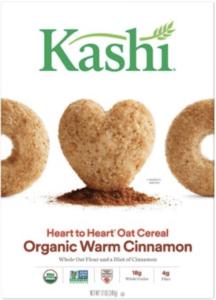 kashi heart to heart organic warm cinnamon - healthiest breakfast cereals