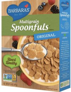 barbara's shredded spoonfuls multigrain - healthiest breakfast cereals
