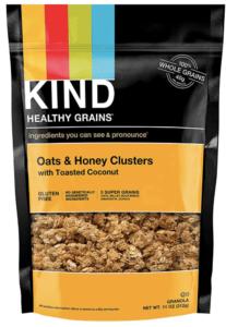 kind granola - healthiest breakfast cereals