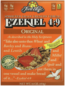 Food For Life Ezekiel 4:9 Organic Sprouted Whole Grain Cereal, Original
