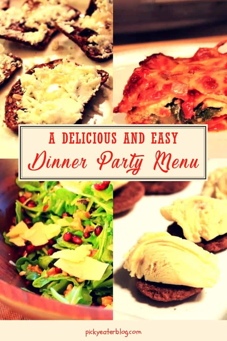 Dinner Party Menu- easy healthy recipes, tasty healthy recipes, delicious healthy recipes, vegetarian healthy recipes, quick and easy recipes for picky eaters