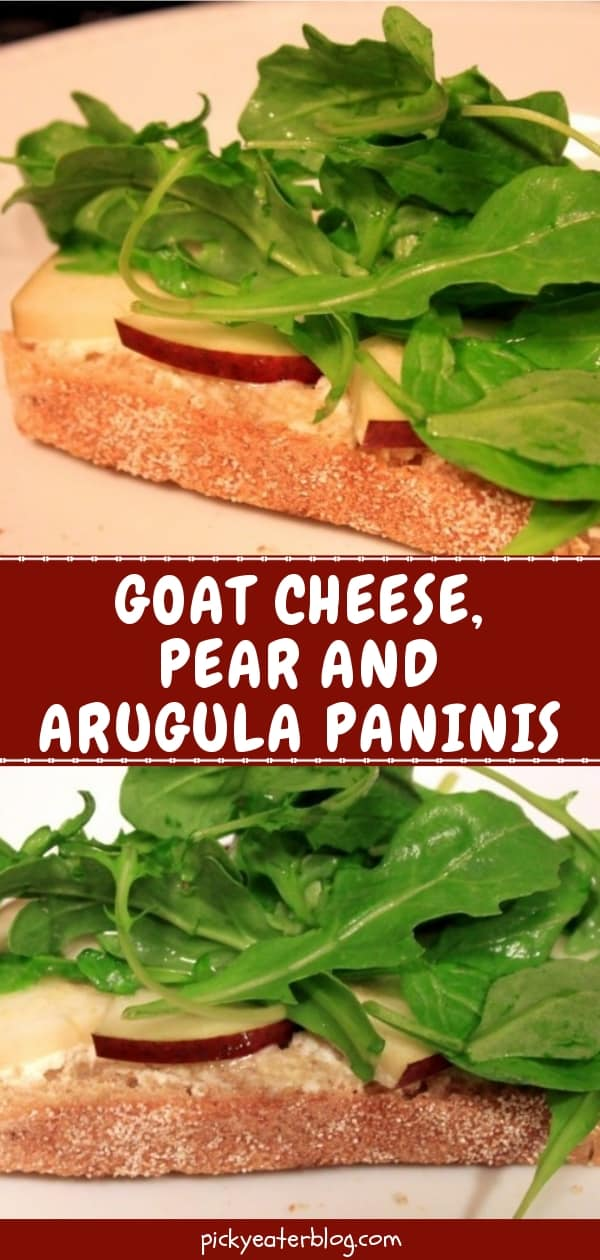 goat cheese, pear and arugula paninis-healthy food yummy, healthy delicious food, healthy food tips for picky eaters, picky kids meals