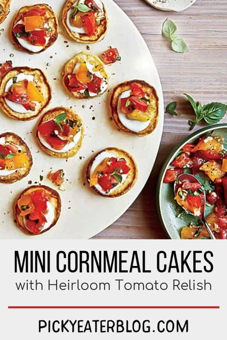 mini cornmeal cakes-healthy food yummy, healthy delicious food, healthy food tips for picky eaters, picky kids meals