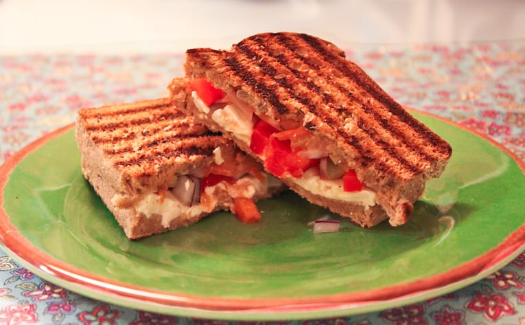mediterranean style paninis-healthy food yummy, healthy delicious food, healthy food tips for picky eaters, picky kids meals