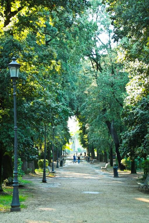 4b - villa borghese park