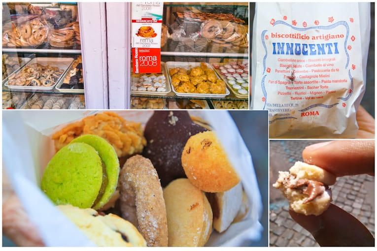 5 - trastevere bakery collage