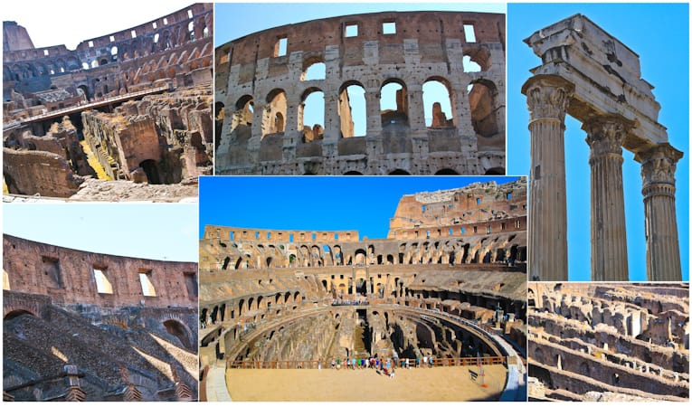5b - colleseum collage