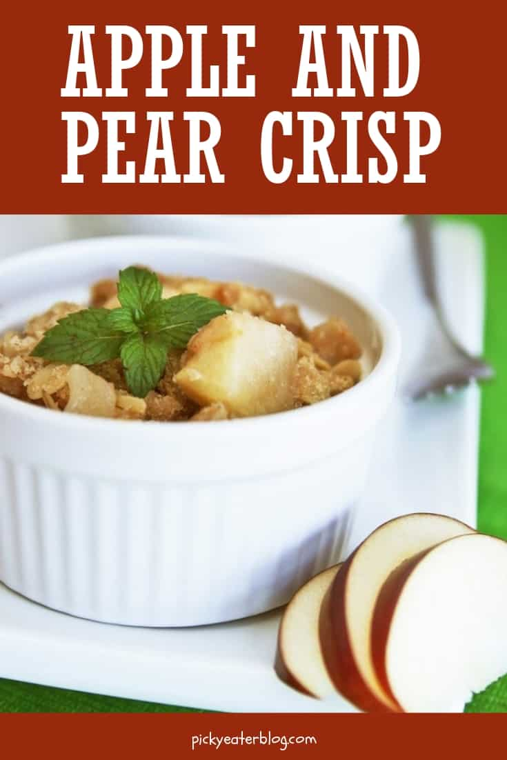 apple and pear crisp - easy healthy recipes, tasty healthy recipes, delicious healthy recipes, vegetarian healthy recipes, quick and easy recipes for picky eaters