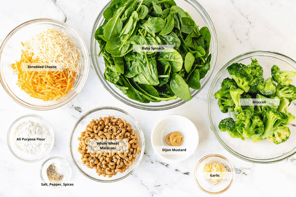 healthy mac and cheese ingredients