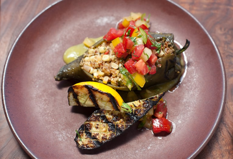 Fire Roasted Poblano Chilies
