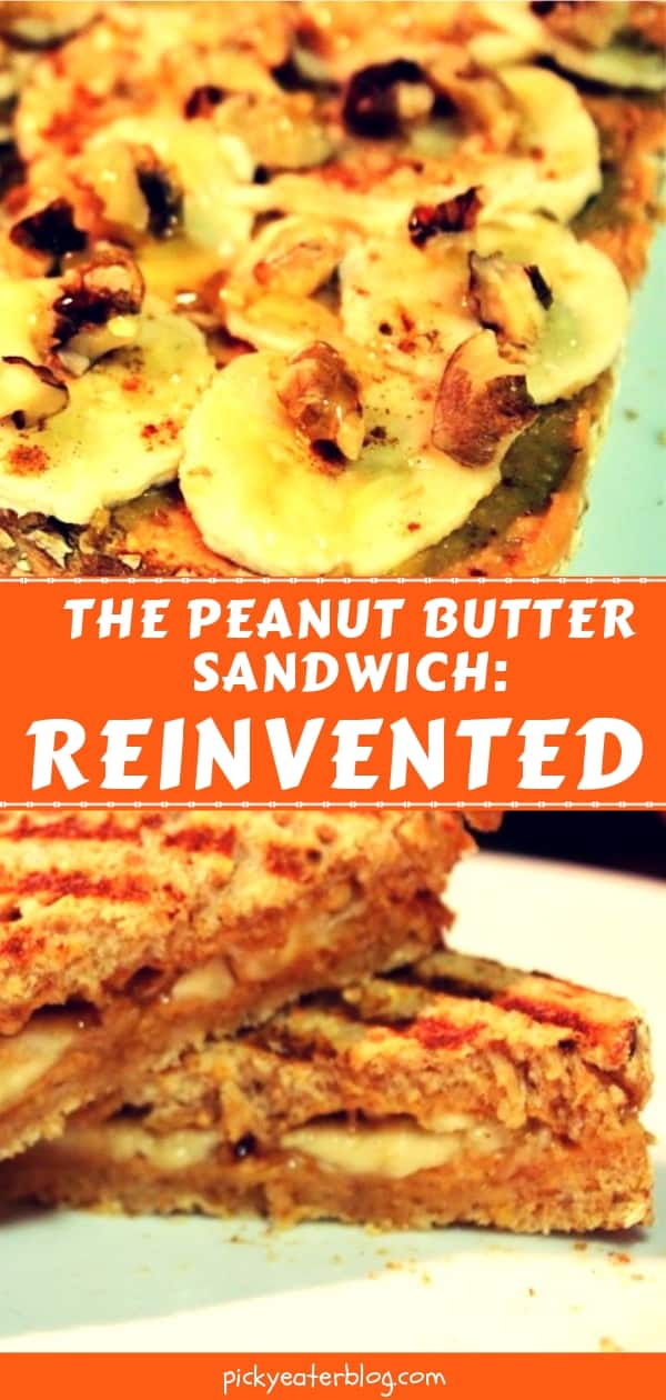 The Peanut Butter Sandwich: Reinvented - easy healthy recipes, tasty healthy recipes, delicious healthy recipes, vegetarian healthy recipes, quick and easy recipes for picky eaters #healthyfood #food