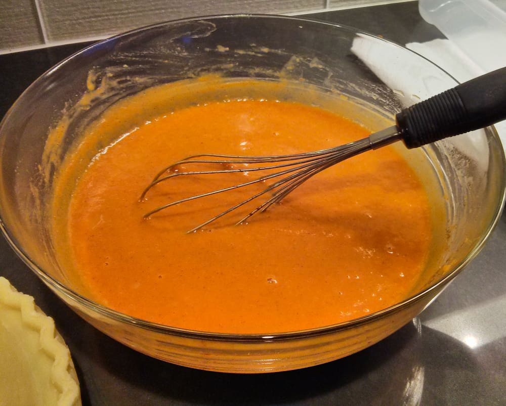 Smooth pumpkin puree