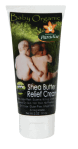 natures paradise shea relief cream
