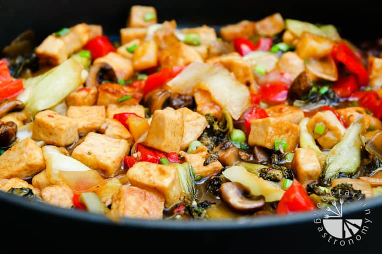 VG sweet and sour vegetable tofu-6