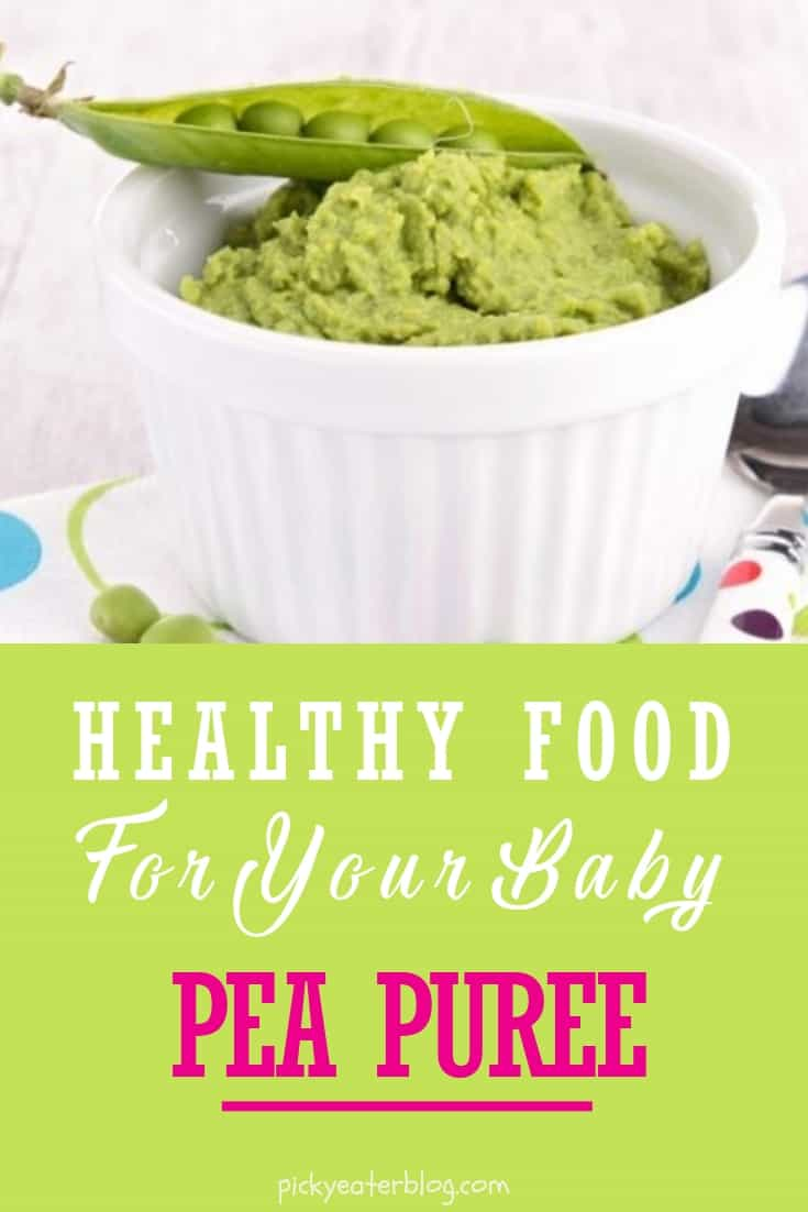 Homemade baby food recipes pea puree the picky eater pea puree homemade baby food organic making baby food recipes baby food puree forumfinder Gallery