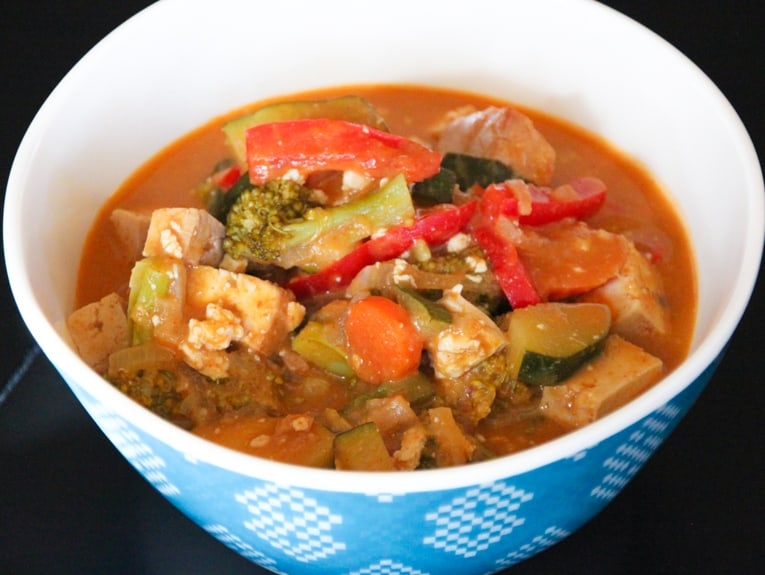 vegetable panang curry. quick easy recipes, healthy food for picky kids, healthy food for picky husband, healthy tasty food, healthy food on a budget