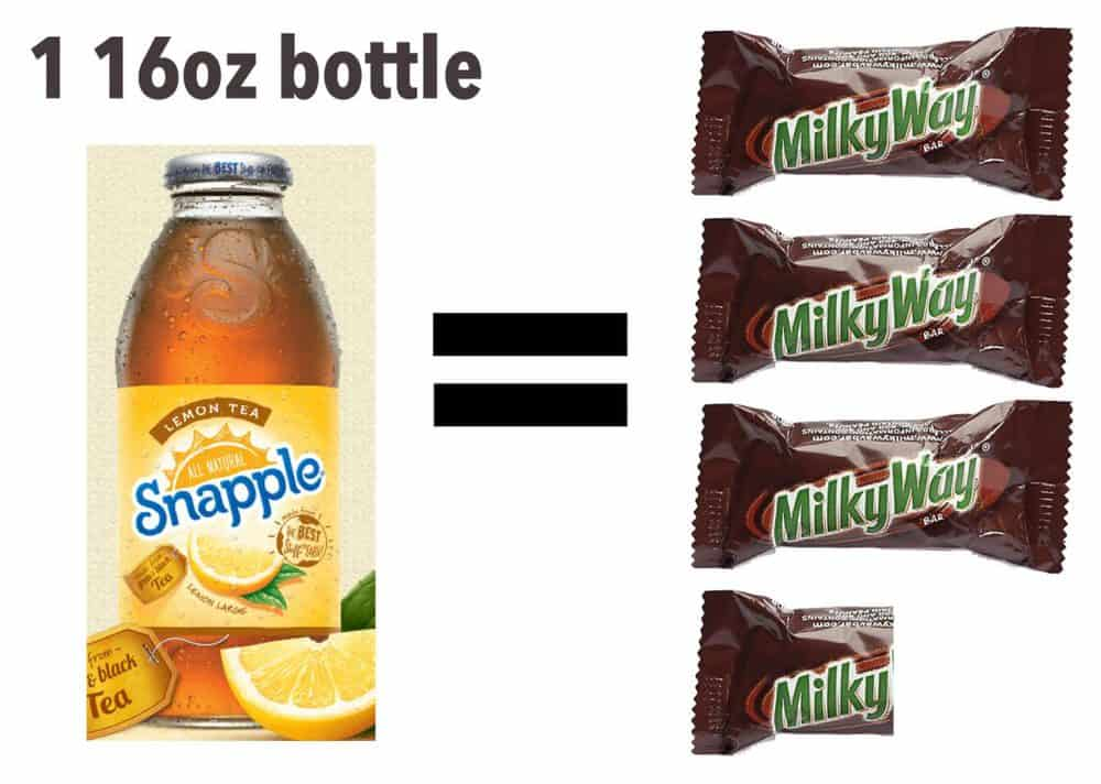 Milky Way - Iced Tea - amount of sugar