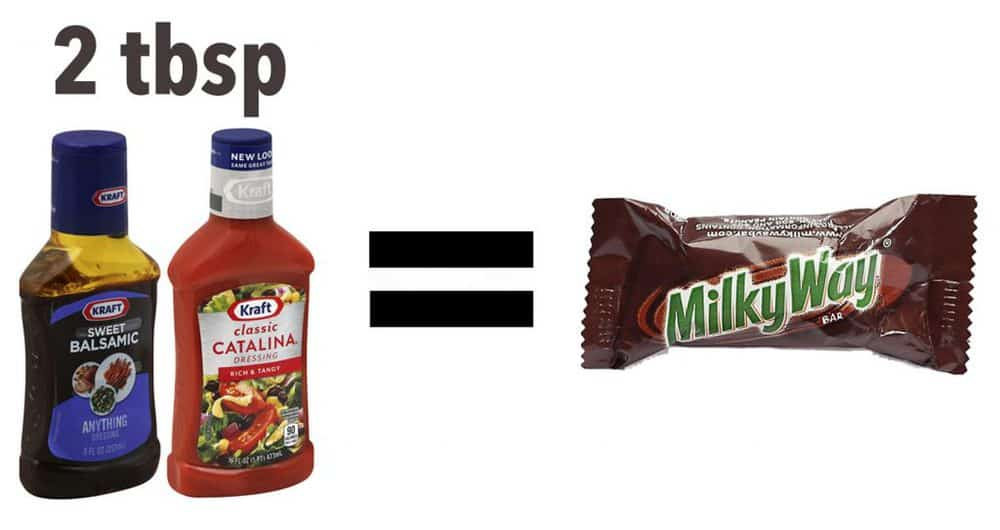 Milky Way - Salad Dressing - Amount of sugar